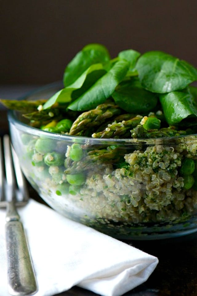 Quinoa-Pesto-Bowl