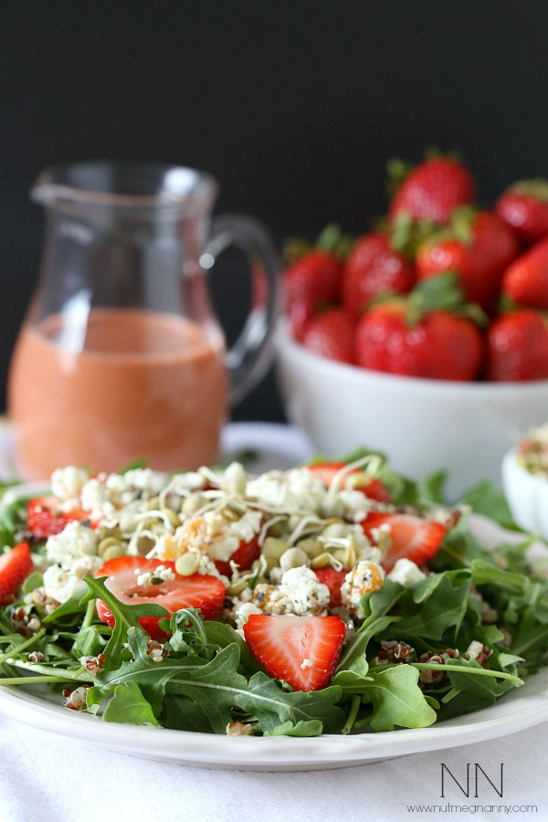 Strawberry-Goat-Cheese-Quinoa-Salad