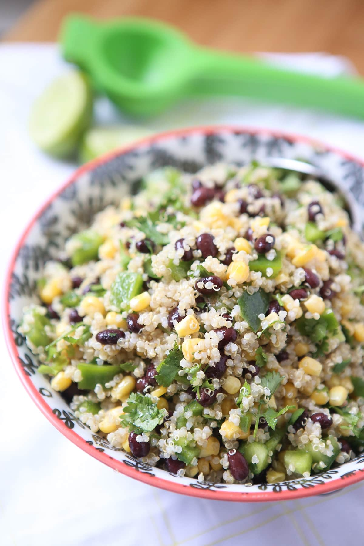 Quinoa Black Beans Corn Kitchen