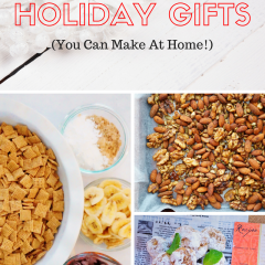 DIY Healthy Holiday Gifts - simple ideas for homemade food gifts this season!