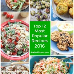 Top 12 Most Popular Recipes from AggiesKitchen.com