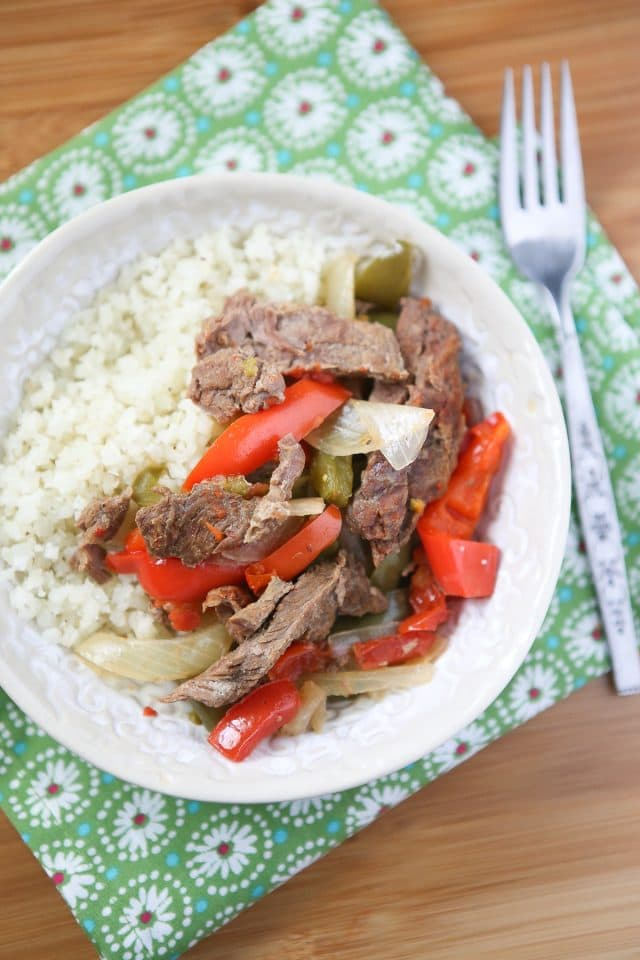 Add this Easy Pepper Steak from Add A Pinch Cookbook to your weeknight dinner rotation. Filled with veggies and so quick to pull together in the slow cooker - my family loved it!