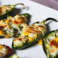 Cheese Corn Stuffed Jalapenos Recipe