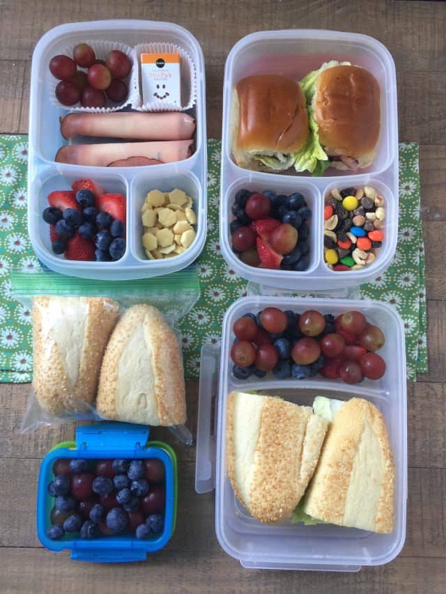 Tips for packing better lunches for your kids to take to school.
