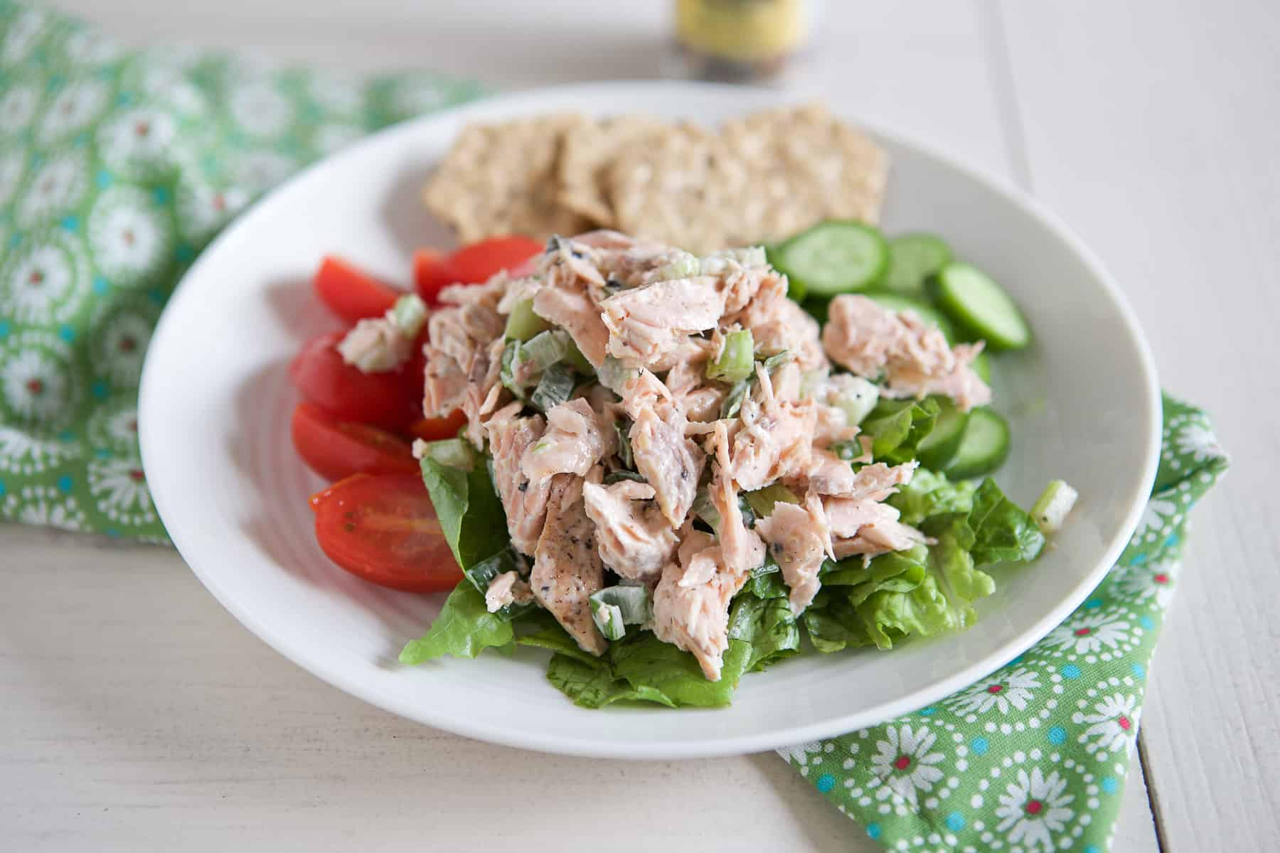 Fresh Salmon Salad Recipe Aggie S Kitchen