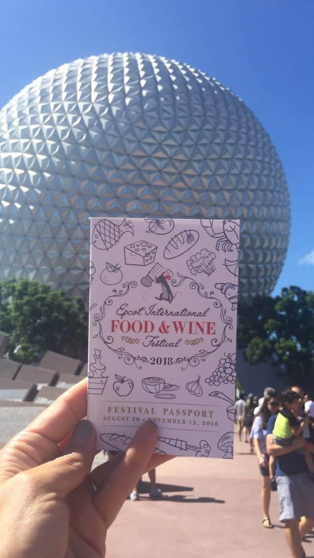 Epcot International Food and Wine Festival Menu 2018