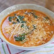 Tomato Spinach Tortellini Soup Skinnytaste Recipe